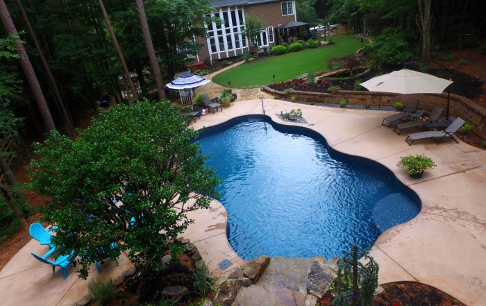 Inground Vinyl Swimming Pool In Canton, GA