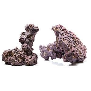 Life Rock Shrooms Dry Rock Tower (2 Pack) - Caribsea
