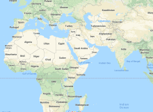 911 Area Code Map