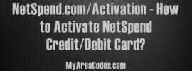 NetSpend.com/Activation