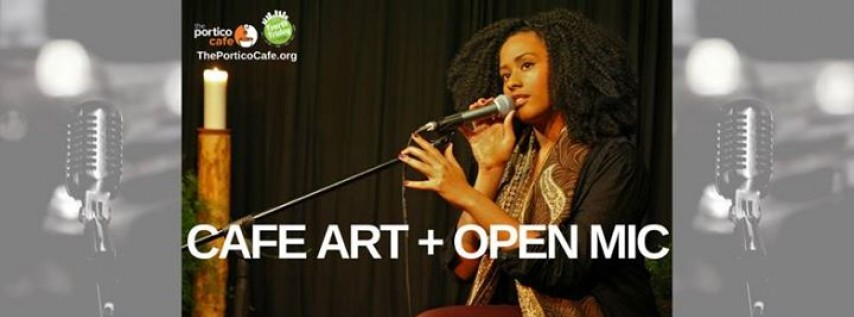 Cafe Art Open Mic At The Portico Cafe Tampa FL May 26