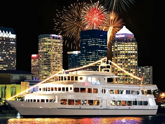 Yacht Starship Fourth Of July Fireworks Cruise Tampa FL