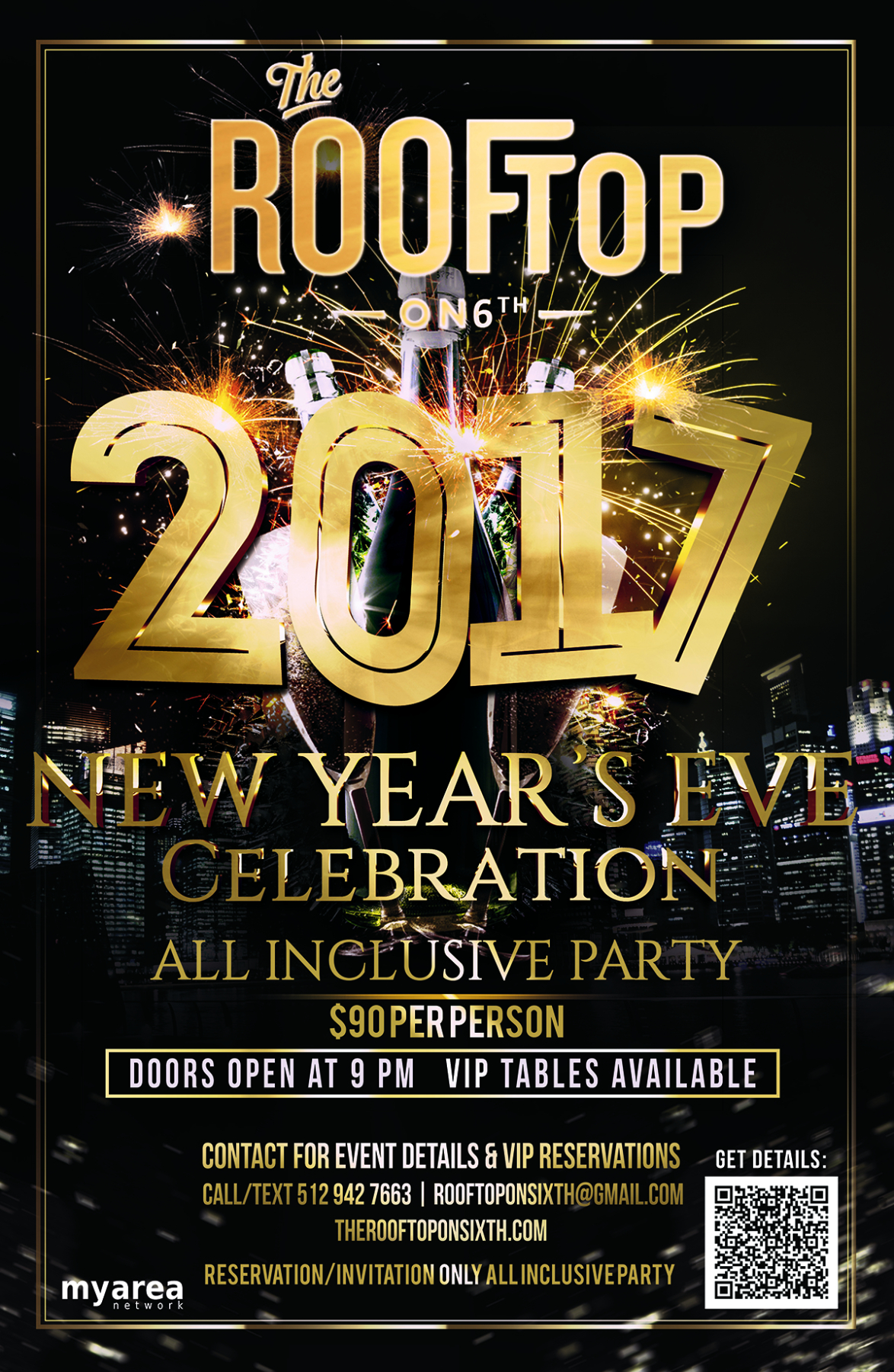 New Year S Eve 2017 Vip Party At The Rooftop On 6th