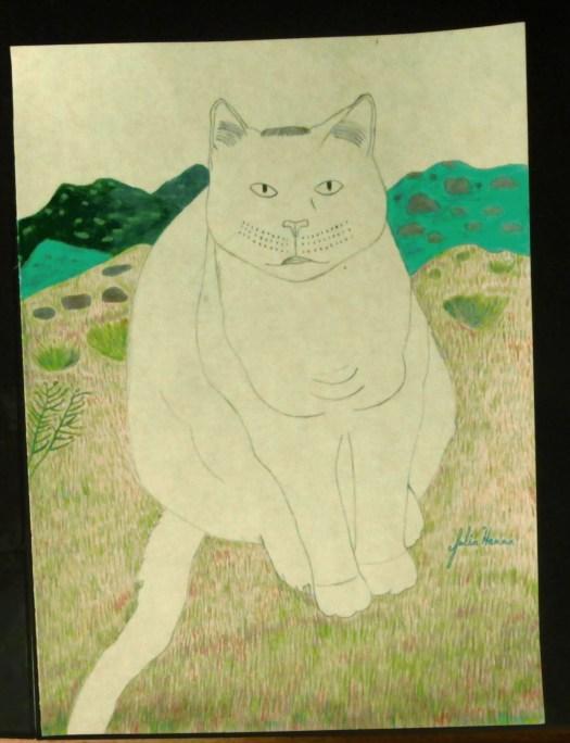 Drawing Irina The Cat