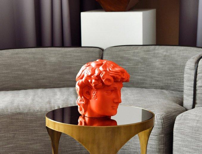 unique board 3D printed sculpture Venus Mansion
