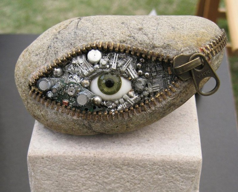 1. Hirotoshi Ito Stone Sculpture