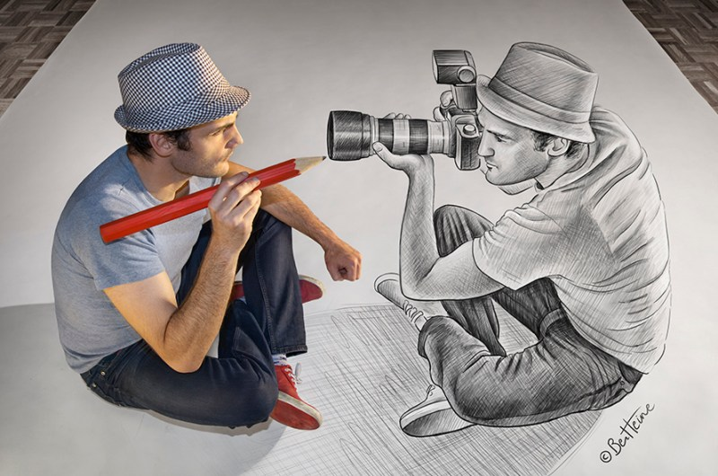 Pencil Vs Camera