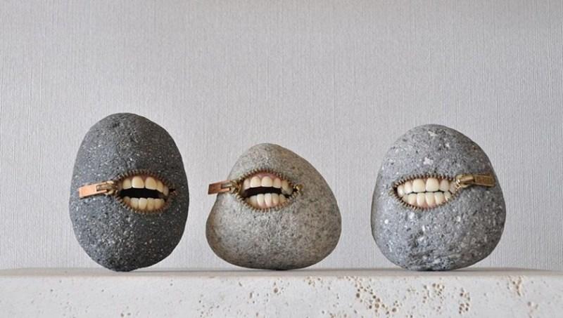 12. Hirotoshi Ito Stone Sculpture