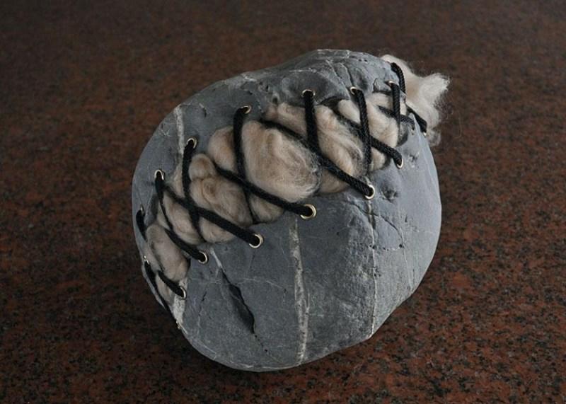 13. Hirotoshi Ito Stone Sculpture