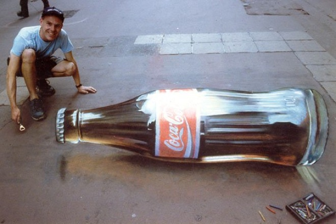 14. Incredible 3d anamorphic illusions Julian Beever