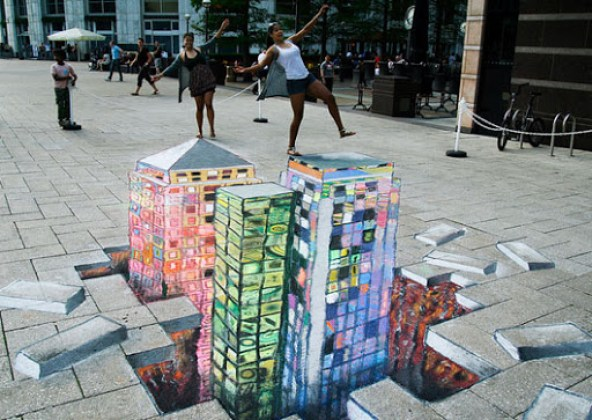 17. Awesome 3D Street Art