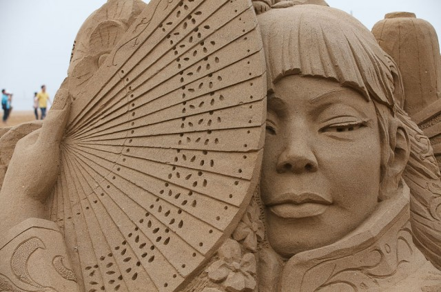 17. Beautiful Sand Sculpture