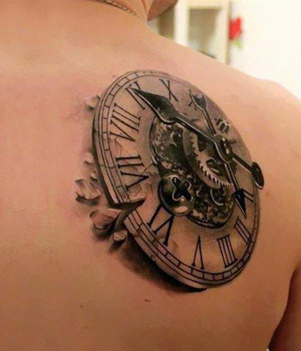 26. 3d tatto art