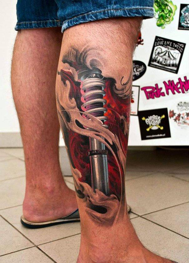 37. 3d tatto art