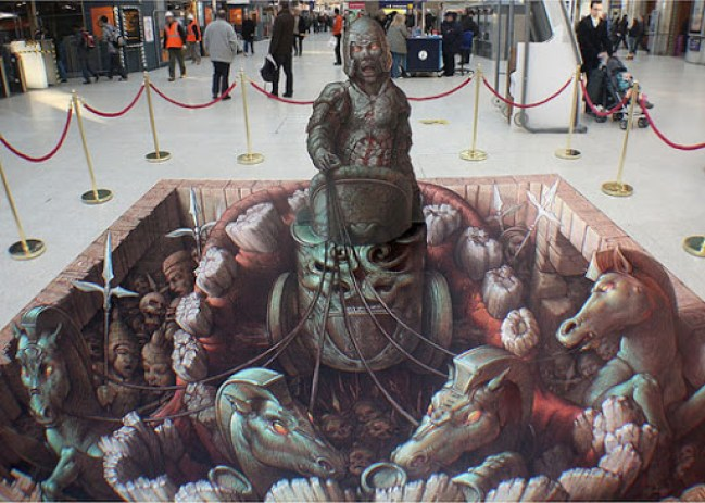 7. Awesome 3D Street Art