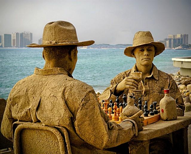 7. Beautiful Sand Sculpture