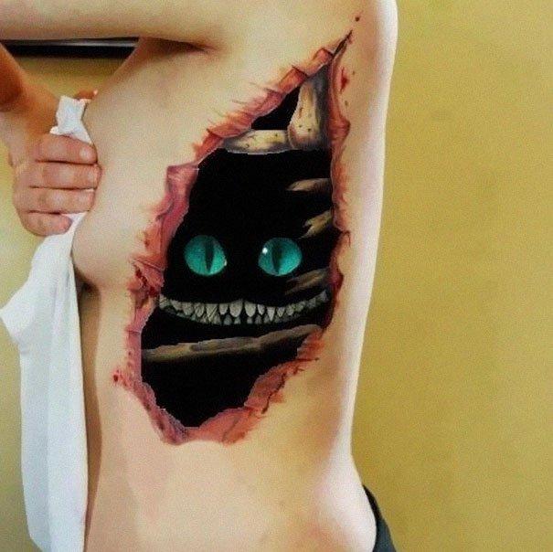 9. 3d tatoo art