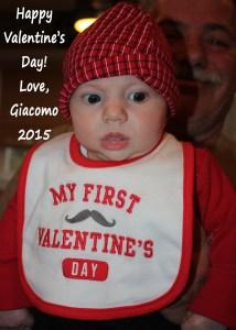 Mommy's favorite valentine! (Sorry Matt)