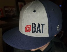 At Bat Hat Side Profile