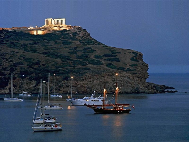 Sounion Location