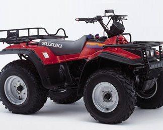 1987-1998 Suzuki LT-F250, LT-4WD, LT-F4WDX Service Repair Manual
