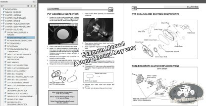 ATV Service Manual Sample
