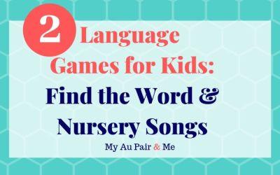 Two Fun Language Games for Kids