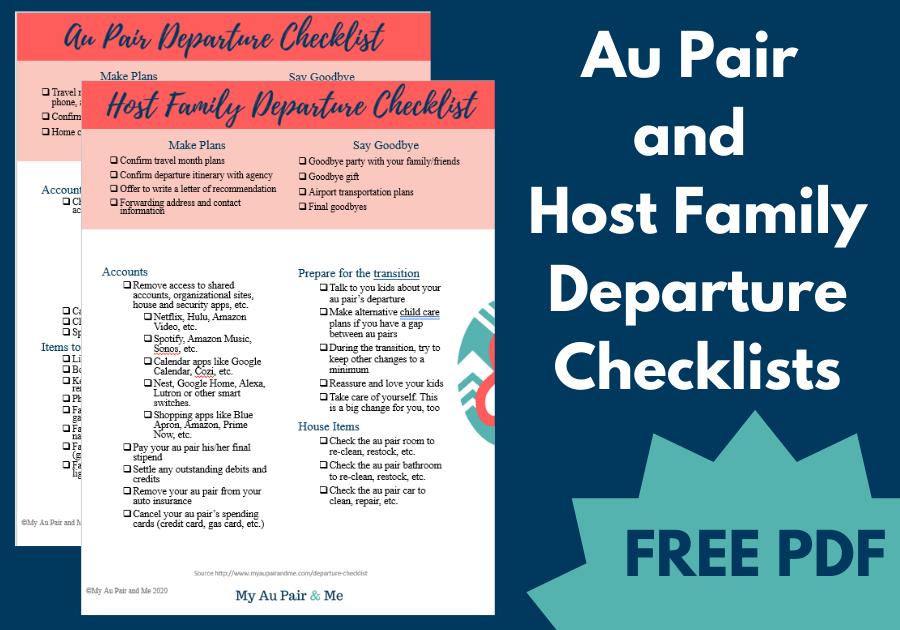 Offboarding Departure Checklist Free PDF