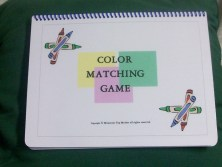Color Recognition Matching/Memory/Sorting Activity Game