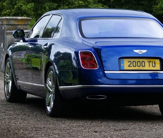 Bentley Mulsanne Standard Specification