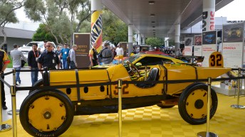 MARMON WASP THE FIRST INDY 500 WINNER OPENS THE 2016 SEMA SHOW