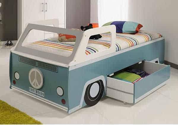 Camper Van Kids Bed Inspiration 10
