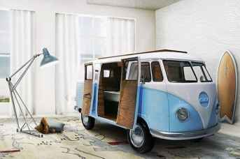 Camper Van Kids Bed Inspiration 13