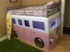 Camper Van Kids Bed Inspiration 28