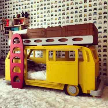 Camper Van Kids Bed Inspiration 43