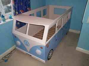 Creative Camper Van Baby Bed Ideas 19