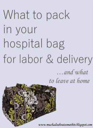 Ideas About Hospital Bag For Mom To Be 31