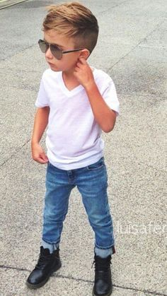 Little Boy Haircuts Inspiration 26