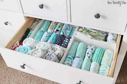 Nursery Organizing Ideas 20