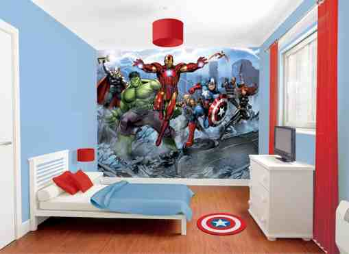 Avengers Bedroom Ideas 16