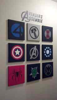 Avengers Bedroom Ideas 17
