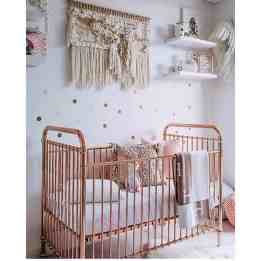 Rose Gold Crib 14