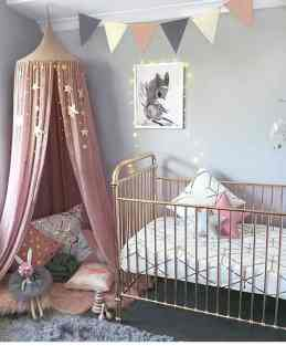 Rose Gold Crib 23