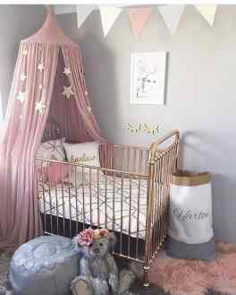 Rose Gold Crib 25