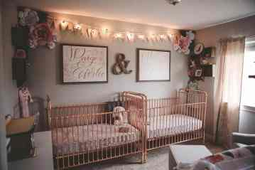Rose Gold Crib 4