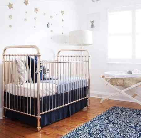 Rose Gold Crib 9