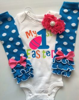Newborn Easter Outfit 17