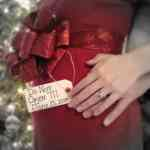 Christmas Pregnacy Announcment 8