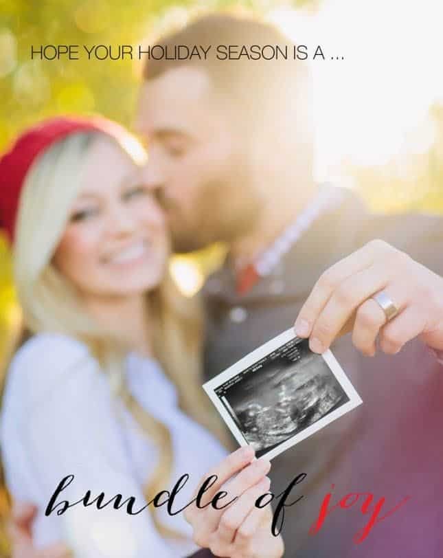 Twin Christmas Announcement 25