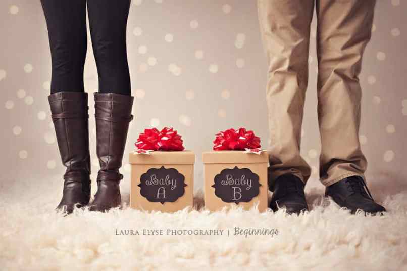 Twin Christmas Announcement 26